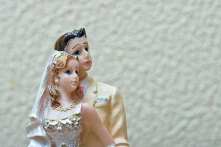 Bride and Groom weddingcake figurine