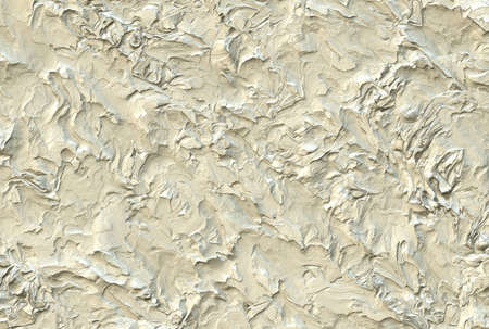 White rough plastered wall background Standard-Bild