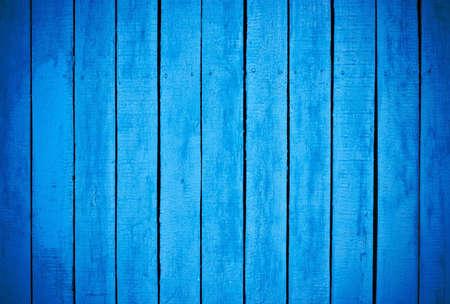 Blue painted wood background Stock Photo - 8272559