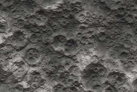 Moon surface with craters (Background image) Stock Photo - 8272560