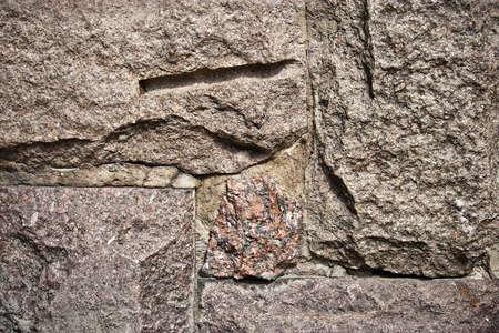 A stone background pattern on a wall