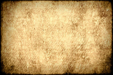 Old grungy worn paper background. Stock Photo - 12470028