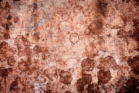 Grungy rusty red metal background.