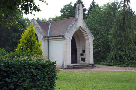 dilute: Chapel of the destroyed village of Douaumont Editorial