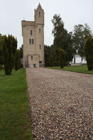 helens: Front view of the Ulster Tower Memorial