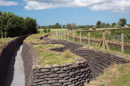 ww1: Overview of the reconstructed trenches of death Editorial