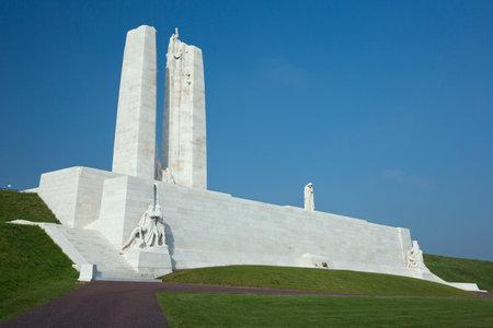 Overview of the Vimy Ridge Memorial