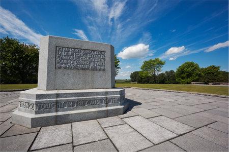 salient: Hill 62 memorial overlooking the Ypres salient
