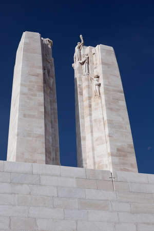 expeditionary: The two towers of the Vimy Ridge memorial