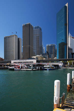quay: Circular Quay and the Central Business District