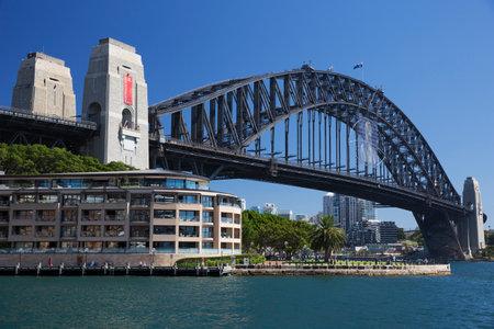 port jackson: Sydney Harbour Bridge