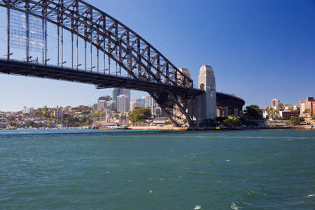 cahill: Lavender Bay and Sydney Harbour Bridge Editorial