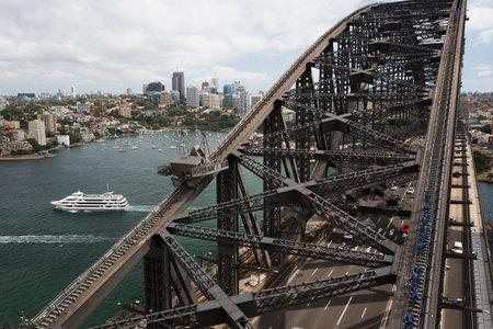 port jackson: Climbing Sydney Harbour Bridge