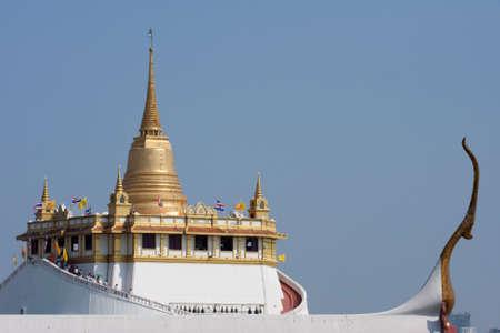 the grand palace: Grand palace Bangkok seen from what Ratchanadda Stock Photo