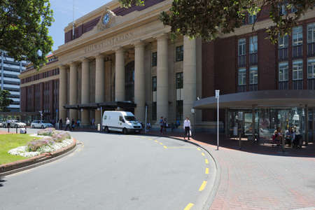 welly: Wellington Railway Station Editorial