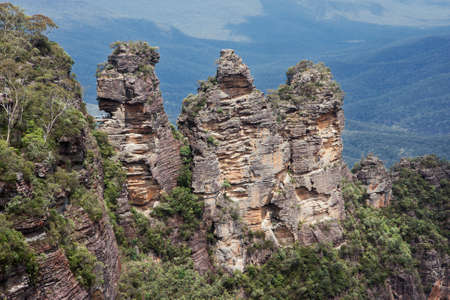 three sisters: Close up from the three sisters