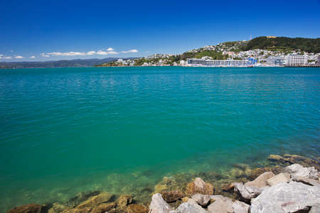 welly: Lambton Harbour, Wellington Stock Photo