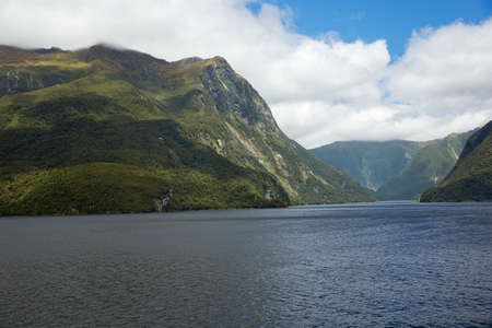 doubtful: Doubtful Sound after the mist