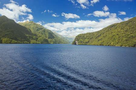 dusky: Deep blue water in Dusky Sound