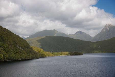 dusky: Southern Alps and Dusky Sound Stock Photo