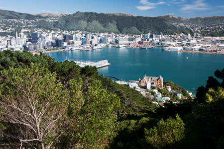 welly: Lambton Harbour seen from Mount Victoria
