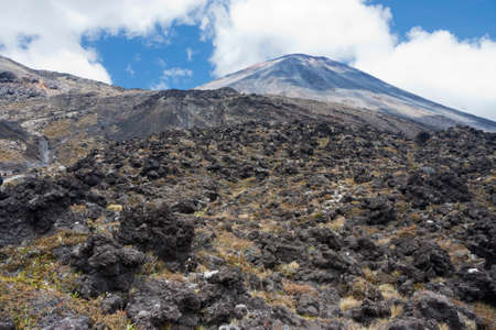 lava: Lava fields at Mount Ngauruhoe