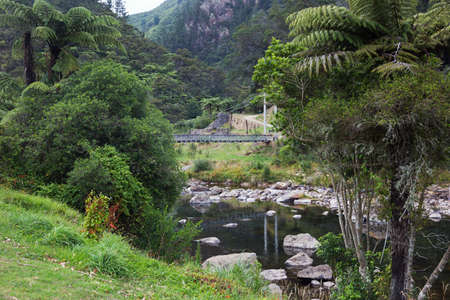 Bridge over the Karangahake Gorge