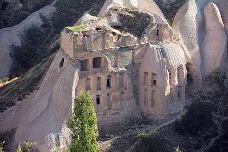 cave house: Cave houses in Pigeon Valley