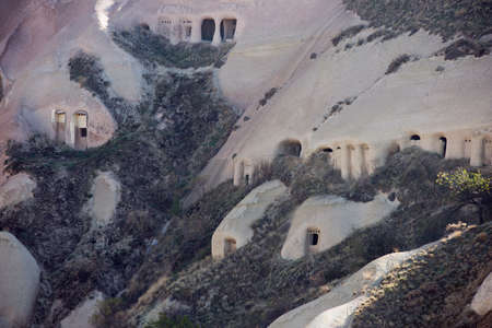 cave house: Pigeon houses in Pigeon Valley