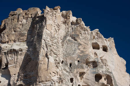 cave house: Uchisar Castle in close-up