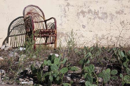 deserted: A deserted Turkish garden