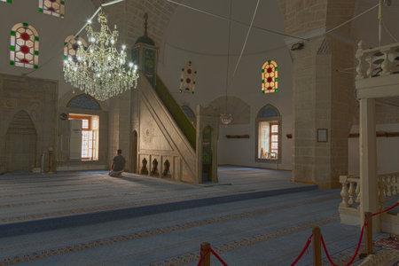 mehmed: Interior of the Tekeli Mehmet Pasa Mosque