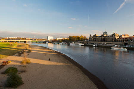 rebuild: The Elbe with the Bruhls Terrace
