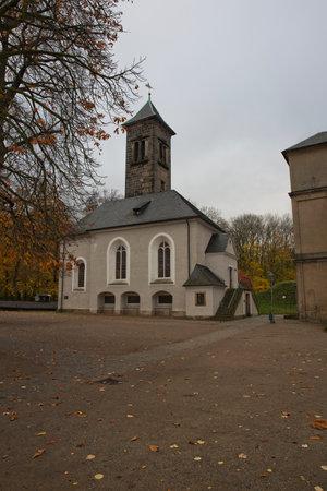 prisoner of war: Chapel inside the Konigstein Fortress