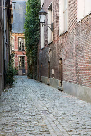 Street in the Grand Beguinage of Mechelen