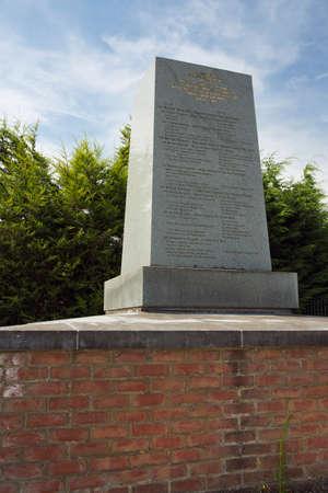 orange nassau: Monument for the British and Hanoverian troops near Quatre Bras