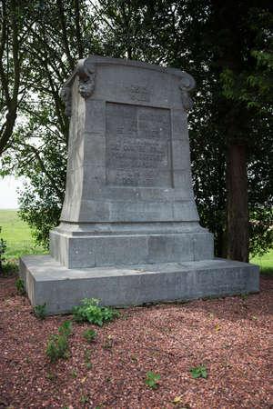 orange nassau: Monument to the Belgians at Quatre Bras