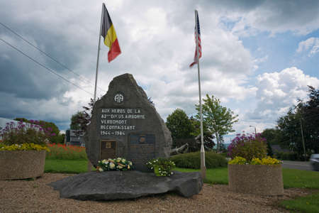 division: Monument in memory of the 82nd Airborne Division in Werbomont