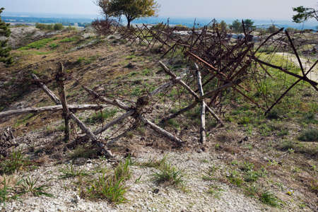trenches: Obstacles at the edge of the precipice