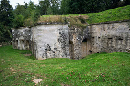 conde: Part of the front wall of the Fort de Conde
