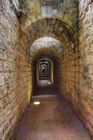 ww1: Inside the long and narrow corridors of the fortress