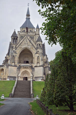 ww1: Chapel of the National Monument for the battles of the Marne