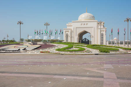 ministry: Gate house of the Emirates Palace in Abu Dhabi