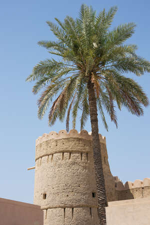 Watchtower at the Nizwa Fort in Oman