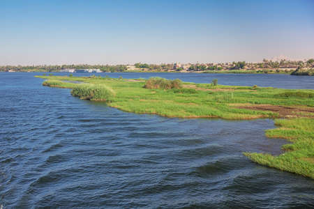 Passing Armant Island, in the vicinity of Luxor