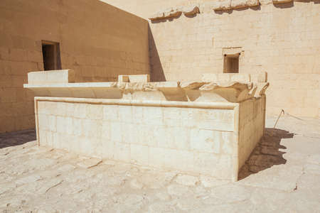 Sun cult complex in the Temple of Hatshepsut in the vicinity of Luxor