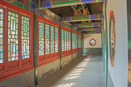 Paintings on the Long Corridor in the Summer Palace, the former imperial garden
