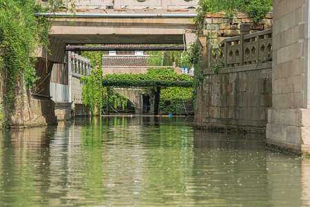 A little side canal of the Shantang Canal in Suzhou
