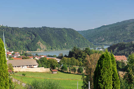 The Danube at Obernzell near the Austrian border