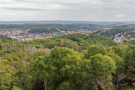 Looking over Eisenach 스톡 콘텐츠
